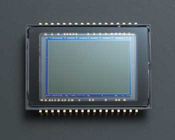 CCD-Chip of a Dynax 7D