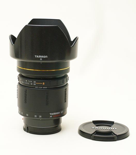 Tamron SP AF 28-105mm F2.8 LD Aspherical IF A-mount lens info