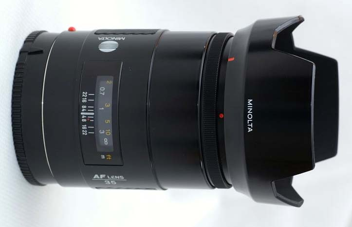 Minolta Af 35mm F1 4 A Mount Lens Info