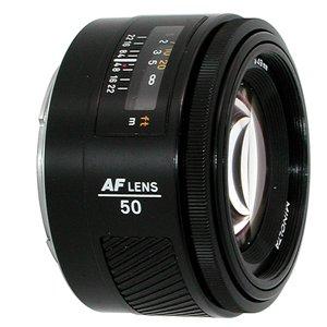 Sony Full Frame Lenses >> Minolta AF 50mm F1.4 A-mount lens info