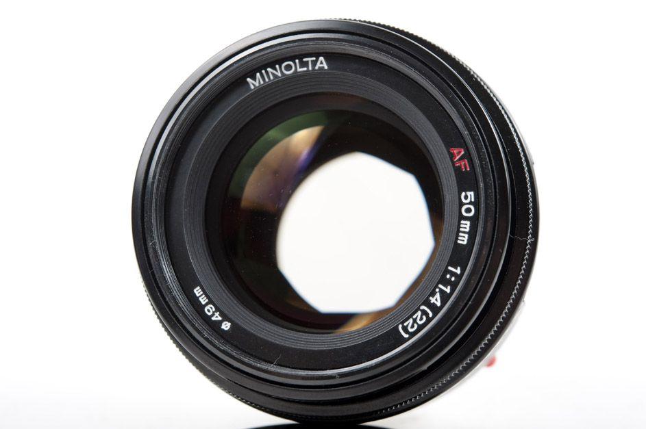 minolta af 50mm f1 4 a