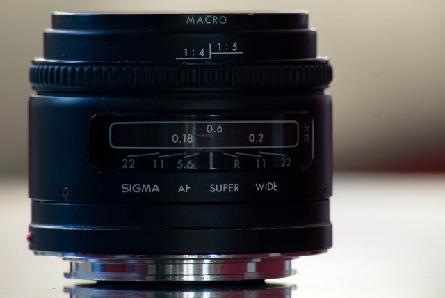Sigma 24mm Super Wide Ii F2 8 A Mount Lens Info