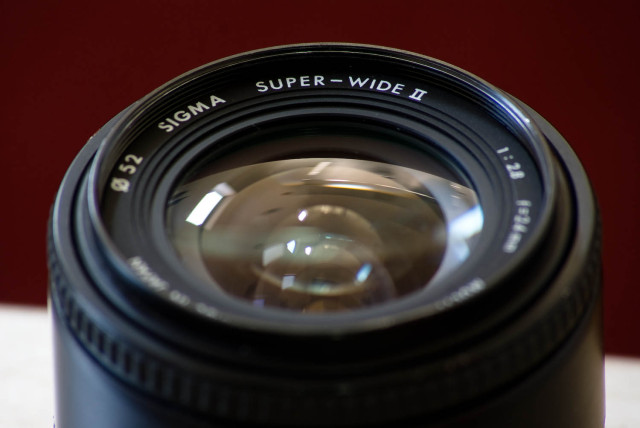 Sigma 24mm Super Wide II F28