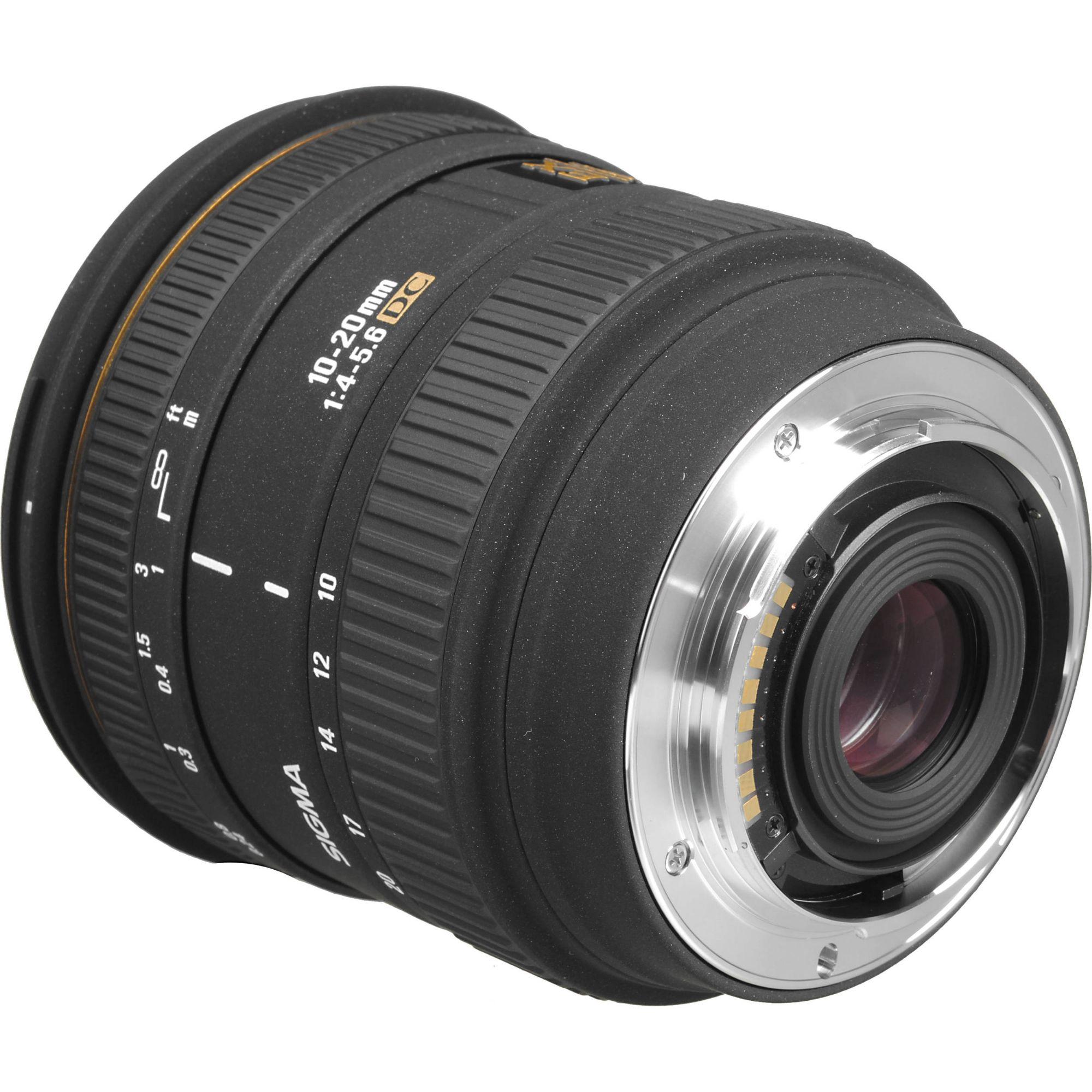 Analoge Fotografie Sigma Ex 10-20mm 1:4-5.6 Dc Hsm FÜr Canon Foto & Camcorder