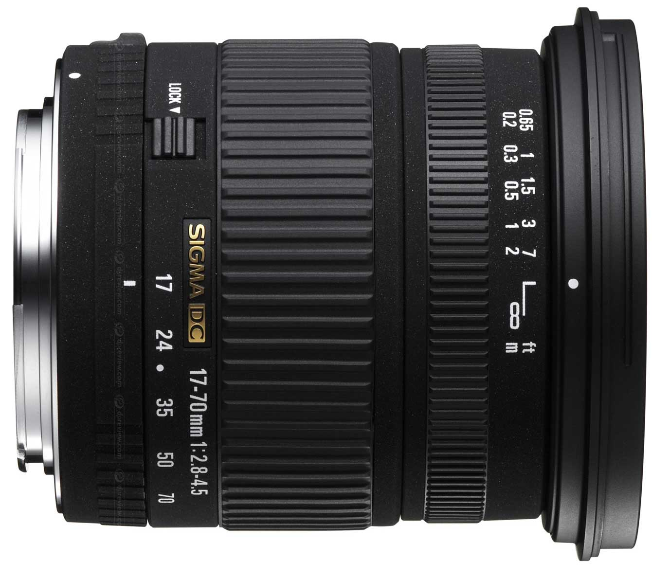 sigma 17 70mm f2 8 4 5 dc a mount lens info. Black Bedroom Furniture Sets. Home Design Ideas