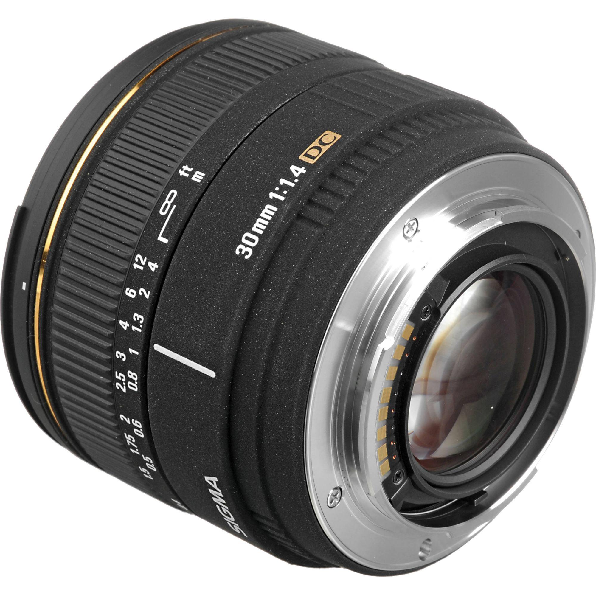 Sigma 30mm f/1.4 EX DC HSM (old) : Caratteristiche e ...