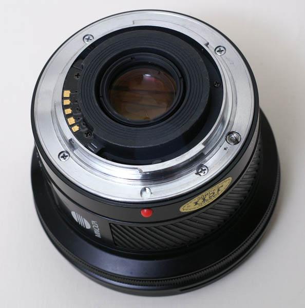 Minolta Af 20mm F2 8 A Mount Lens Info