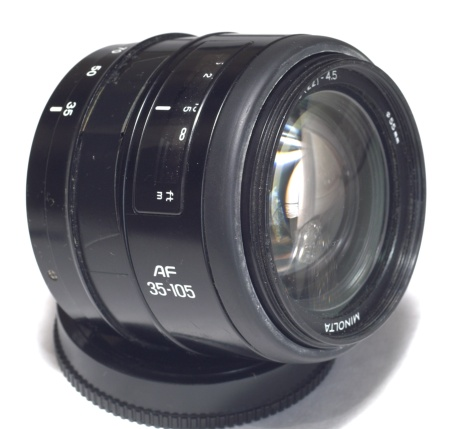 minolta af 35 105mm f3 5 4 5 n a mount lens info. Black Bedroom Furniture Sets. Home Design Ideas