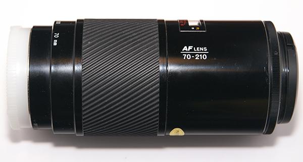 Minolta AF Zoom 70-210mm f/4 - Wikipedia