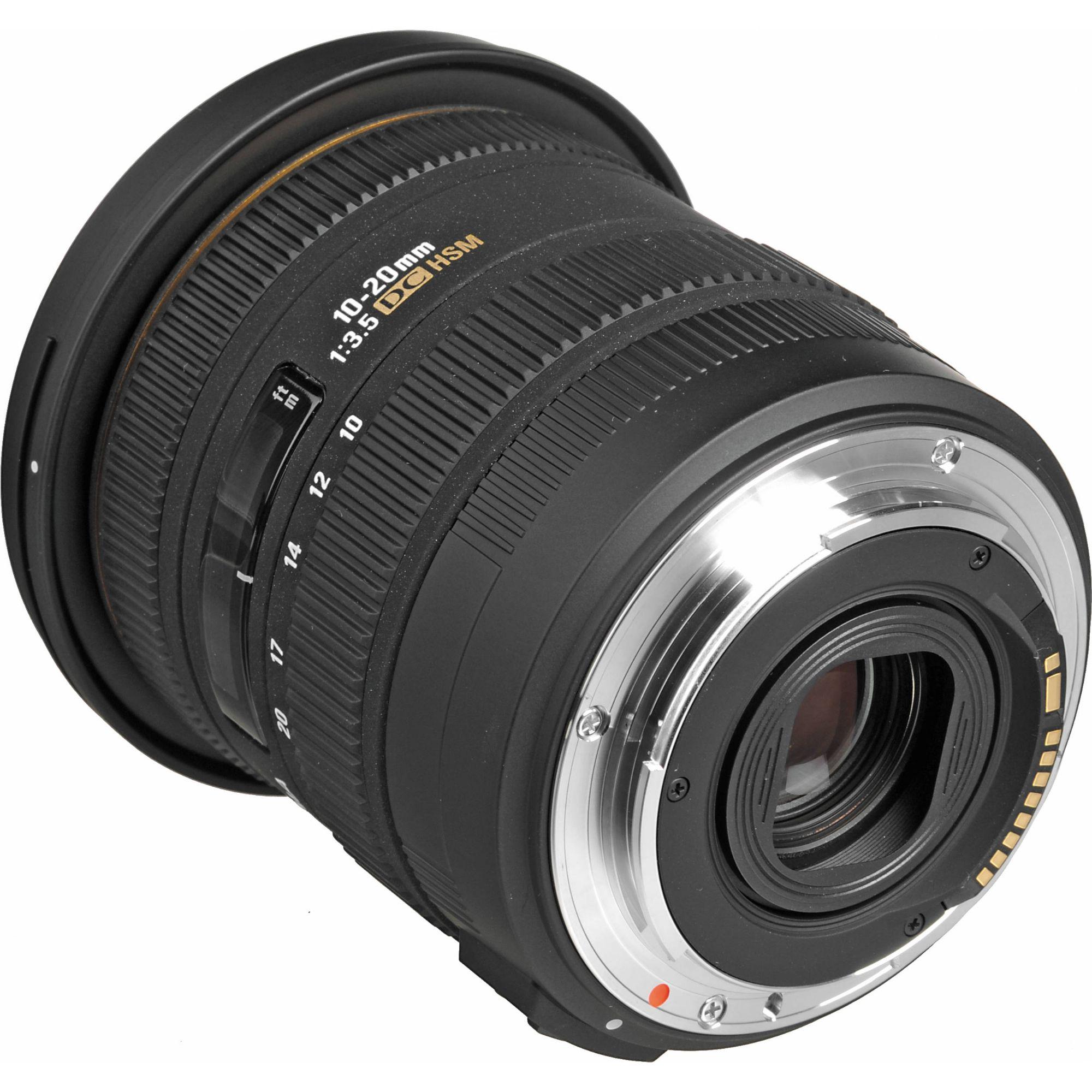 Sigma 10-20mm F3.5 EX DC HSM A-mount lens info