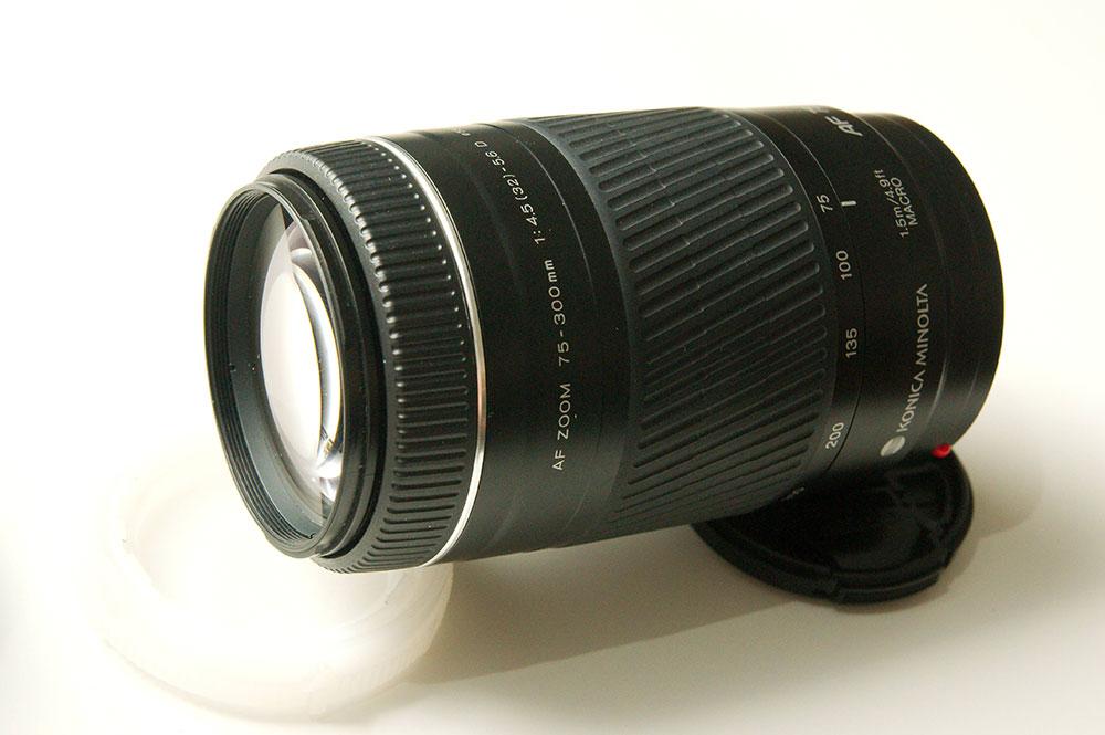 Minolta Af 75 300mm F4 5 5 6 D A Mount Lens Info