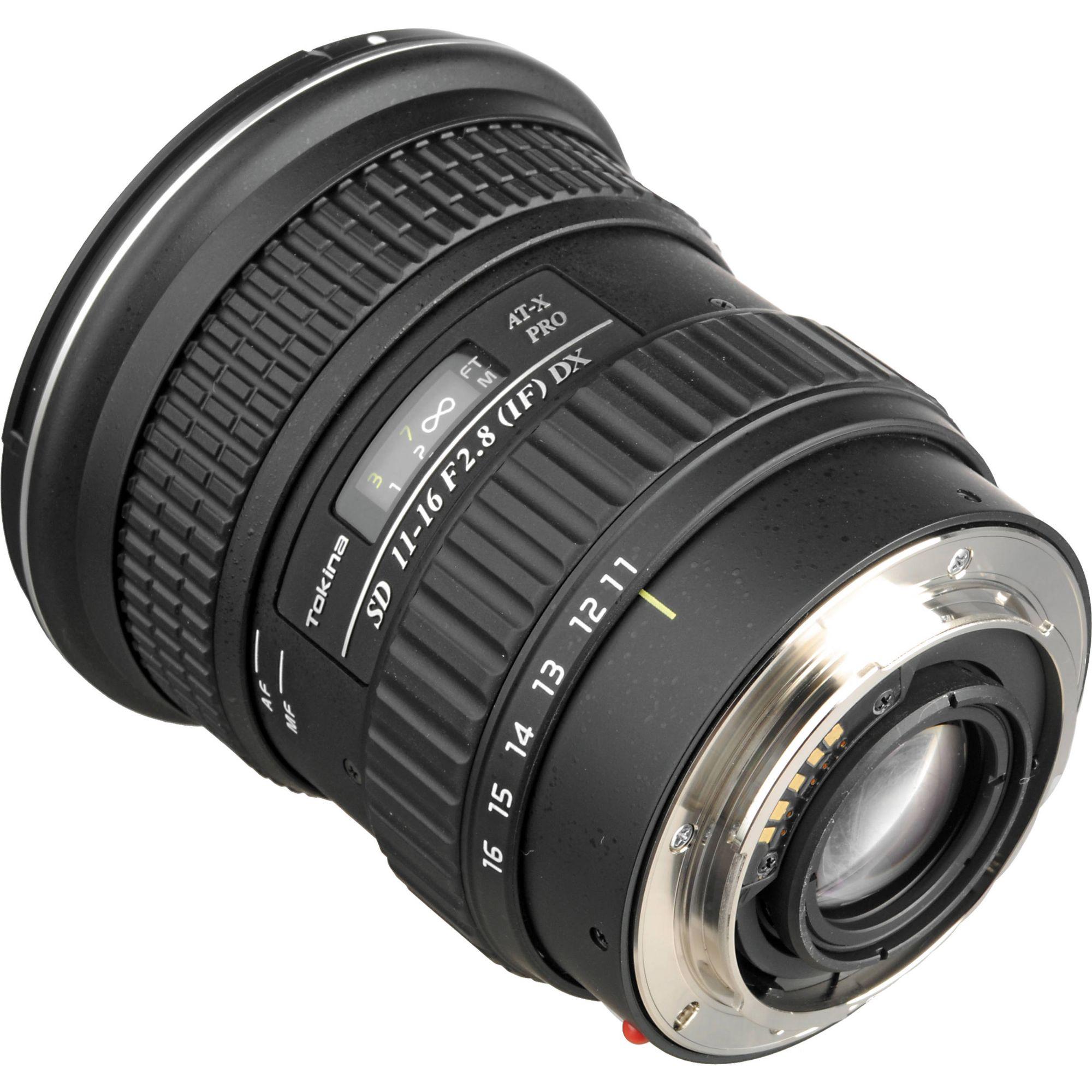 116 2: Tokina 11-16mm F2.8 AT-X 116 PRO DX A-mount Lens Info