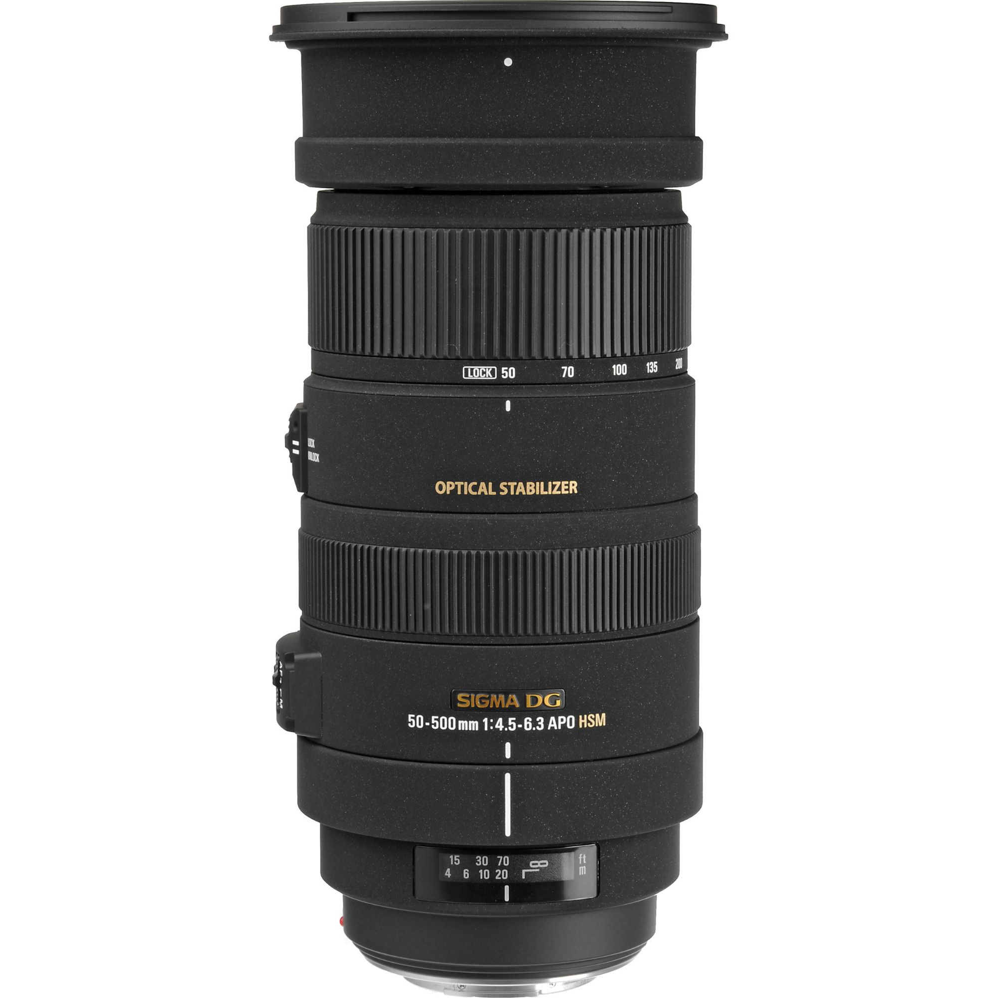 sigma 50 500mm f4 5 6 3 apo dg os hsm a mount lens info. Black Bedroom Furniture Sets. Home Design Ideas