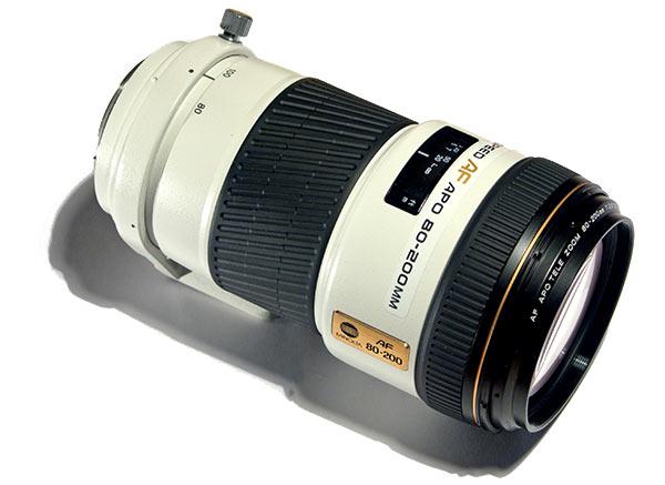 Minolta Af 80 200mm F2 8 Hs Apo G A Mount Lens Info