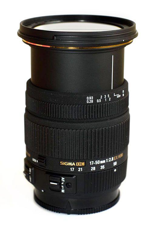 sigma 17 50mm f2 8 ex dc hsm a mount lens info. Black Bedroom Furniture Sets. Home Design Ideas