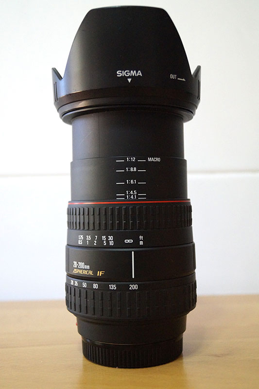 Sigma 28 200mm F3 5 5 6 Dl Hyperzoom Macro Aspherical If A