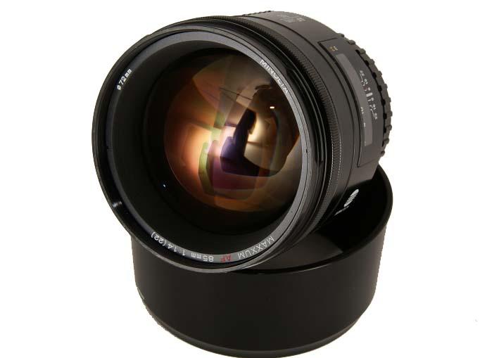 Minolta Af 85mm F1 4 A Mount Lens Info