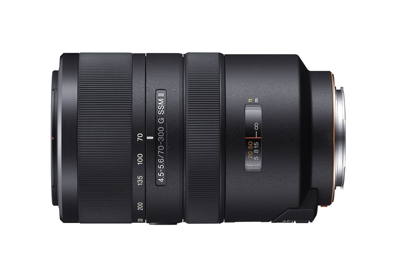 SSM: Sony AF 70-300mm F4.5-5.6 G SSM II A-mount Lens Info