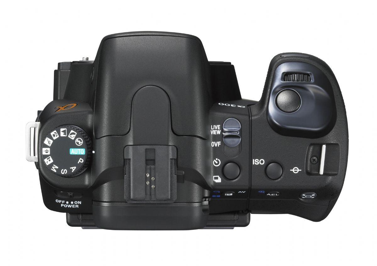 Camera Sony Dslr A300 Camera sony a300 detail page